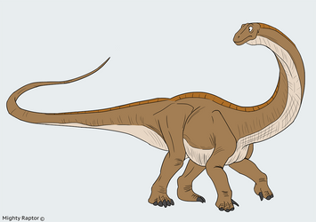 Apatosaur concept by MightyRaptor