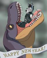 Happy Vore Year! by MightyRaptor