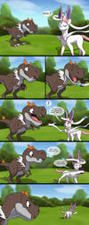 A bite for sweets Page 1/2 by MightyRaptor