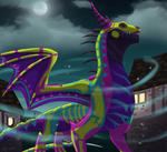 Spirits and Dragons by MightyRaptor