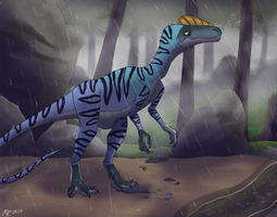 Entering the Wet Fog by MightyRaptor