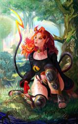 Art Trade: Thora of Asgard by Jingalli