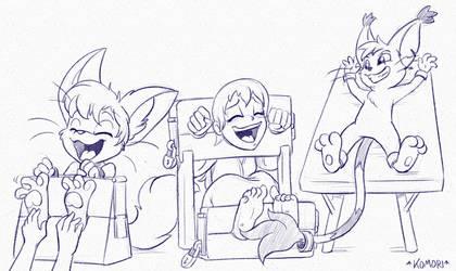 Dungeon Fun Times by CommissionKomori