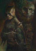 Batman (batman copyright DC/Warner Bros) by Dave-Kendall