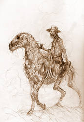 Zombie Horse by Dave-Kendall