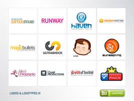 Logos And Logotypes III by deleket