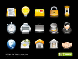 Definition Icons by deleket