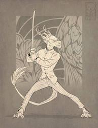 Iron Artist CO: Katsu Dono by TheTundraGhost