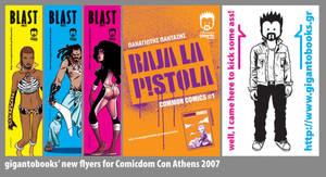 gigantobooks' new flyers... by t-drom
