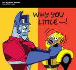 Why You Little-- by WhiteRabbitInk