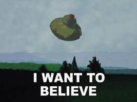 I want to believe too by WhiteRabbitInk