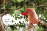 Ruddy Kingfisher plush by icecream80810