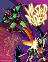 Kamen Rider Black RX by rockmanzallz
