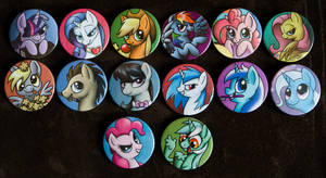 Buttons by Werella 01 by CreepyRiver