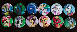 Buttons by Werella 02 by CreepyRiver