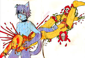 Catboys and  Dolls by deadums