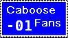 Caboose Fans Stamp by drakeara