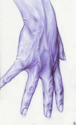 Purple Hand by mattahan