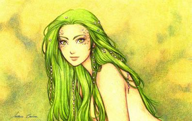 Green Mermaid by AndieCris