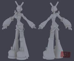 M-GIRL in 3D by C-A-U-T-I-O-N