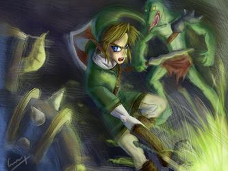 Zelda Twilight Princes Fan Art by Calbak