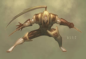 Omega Red Colors by K-Bol