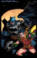BATMAN AND ROBIN by K-Bol