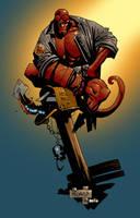 Hellboy by K-Bol