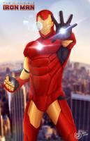 The Invincible-IronMan by SaifuddinDayana