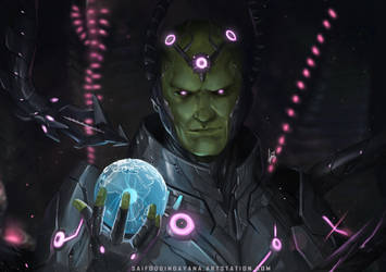 Planet Eater-Brainiac by SaifuddinDayana
