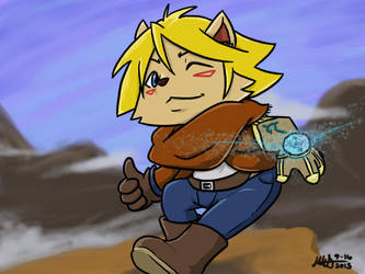 Ezreal Teemo, the Prodigal Scout by KunehoKun