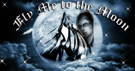 Bayonetta Fly Me to A Moon by dottolina