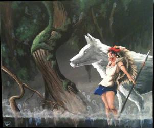 Princess Mononoke by SemajZ