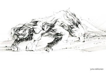 Wolf by JunoRaikkonen