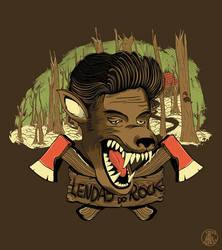 Rock Legends I - Elvis Presley by Ferlac