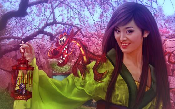 Mulan by DonatellaDrago