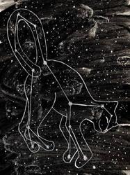 Space cat by MaryTonomura
