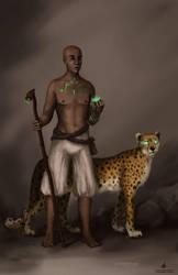 Shaman and keeper by AlyonaSkywalker