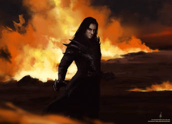 Dark dragon (human form)/Destroyer by AlyonaSkywalker