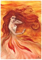 Fire waltz by AlyonaSkywalker