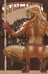 Courtney Whitmore aka Stargirl by LOPEZMICHAEL