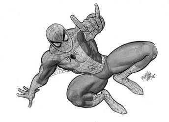 spider-man by michael lopez by LOPEZMICHAEL
