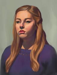 Life Study - Portrait 30 by PonyCool42