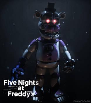 C4D FNaF | Funtime Freddy by DavidAl3man