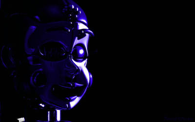 C4D FNaF | Ballora Menu Screen Remake by DavidAl3man