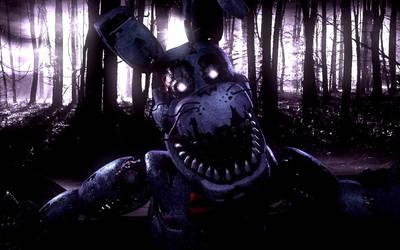 C4D FNaF | Nightmare Bonnie by DavidAl3man