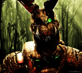 C4D FNaF | Your Worst Nightmare by DavidAl3man