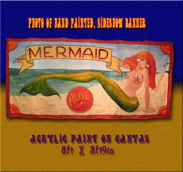 Sideshow Mermaid by morgil99