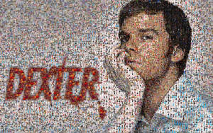 Wallpaper Mosaico III  Dexter by kcaudesign