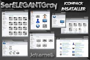 SerELEGANT IconPack Installer by JokerneB